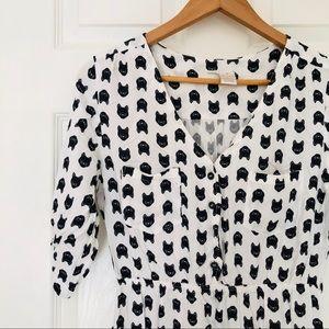 Mimi Chica Dresses - Mimi Chica • Mini Dress • Cat Print • M